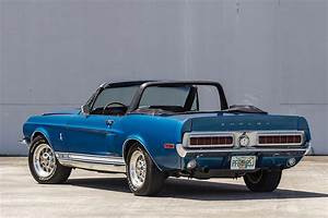 Auction Block: 1968 Ford Shelby GT350 Convertible | HiConsumption