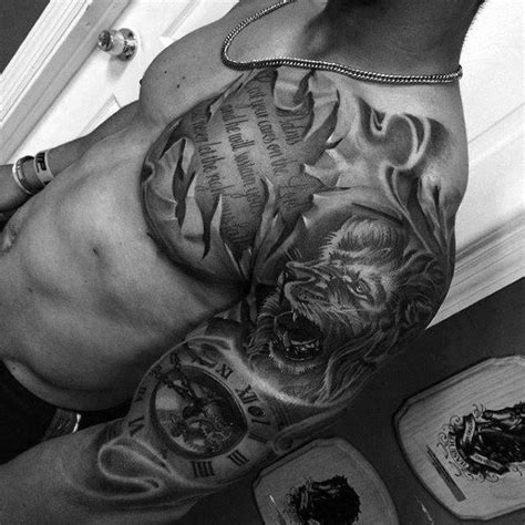 top  coolest tattoos  men masculine design ideas