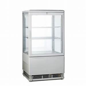 Vitrine A Poser : vitrine refrigeree a poser blanche 58 litres achat vitrines refrigeree a poser ~ Melissatoandfro.com Idées de Décoration