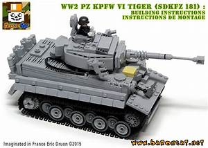 Lego Ww2 Tiger Tank Instructions