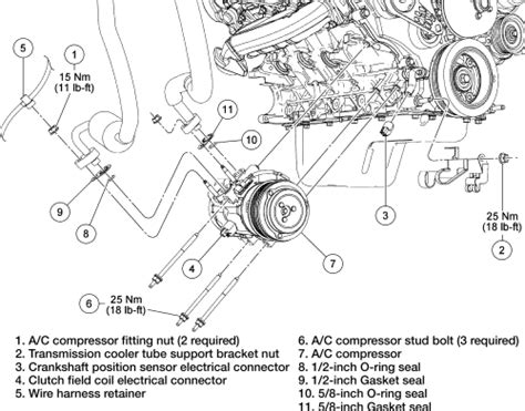 solved ac  heater component location diagram  ford