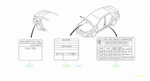 2015 Subaru Impreza Label-emission Control  Caution  Body