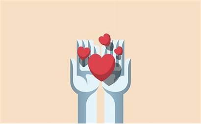Vector Sharing Hands Kindness Illustration Selfless Clip