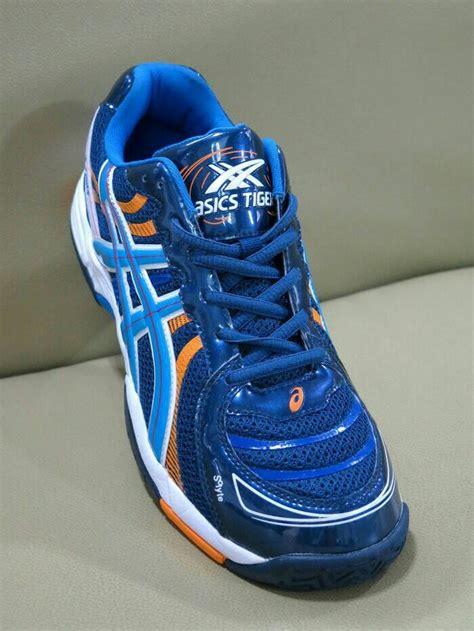 jual sepatu asics tiger volly volley tenis mizuno