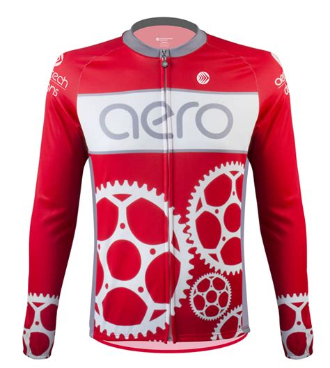 Sprocket Man Cycling Jersey With Chainring Design