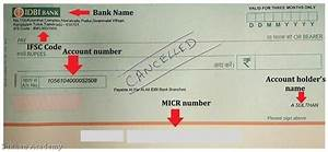 Sample Cheque Image What Is A Cancelled Cheque Its Uses And Sample A