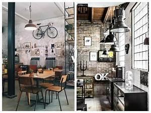 Decoration Industrielle Vintage : id es d coration industrielle pour la maison habitatpresto ~ Teatrodelosmanantiales.com Idées de Décoration