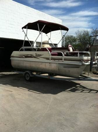 Pontoon Boats San Antonio by 2004 Voyager Pontoon Boat For Sale