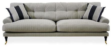 canap 233 andrew beige traditional sofas other metro