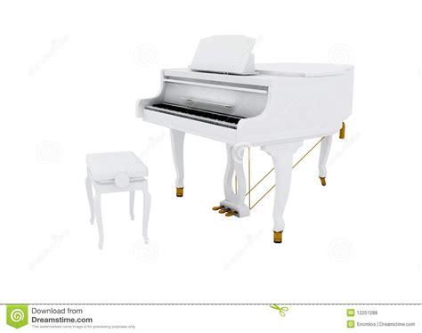 beautiful white grand piano royalty free stock photos