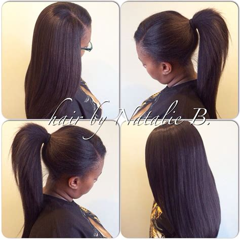 Sew In Ponytail Hairstyles by Sew In Ponytail Hairstyles Fade Haircut