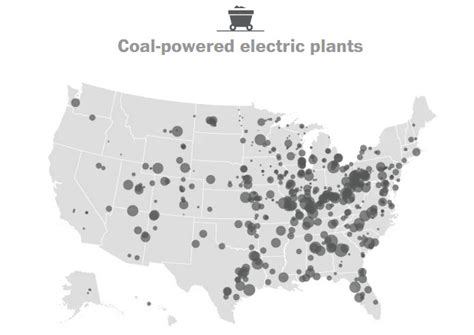 mapping  power plant   united states visual