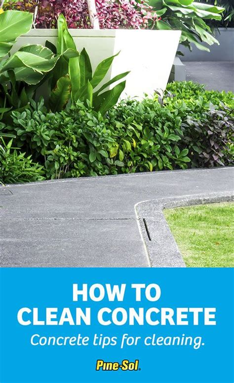 get tips on how to clean concrete floors use pine sol 174 to
