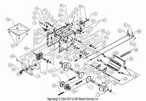 Mtd 317e753f190 Snow Boss 950 St  1997  Parts Diagram For Axle  Frame  Bracket  U0026 Labels