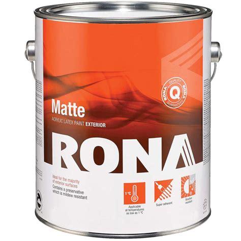 """Latex  """"flat Finish"""" Exterior Acrylic Latex Rona"""