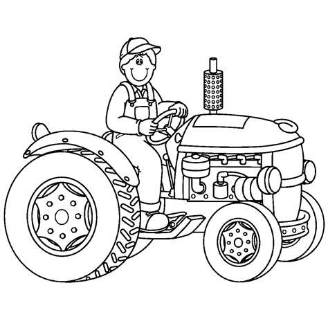 Kleurplaat Tractor Met Ploeg by Leuk Voor Tractor 0007