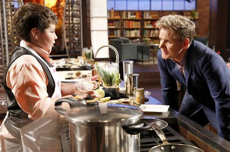 the kitchen show cut themselves far less than adults inside