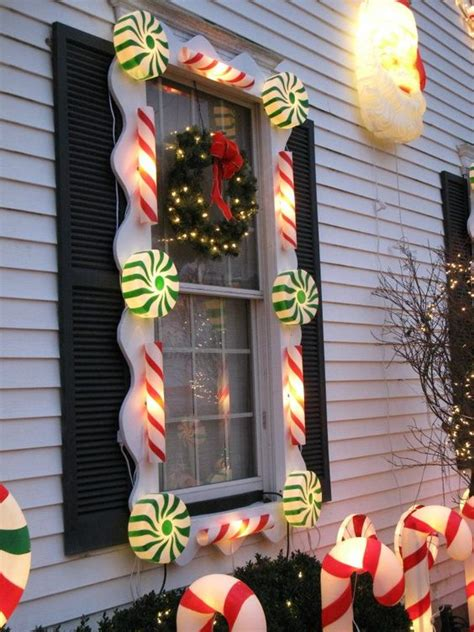 christmas decorations lighted candy canes wwwindiepediaorg