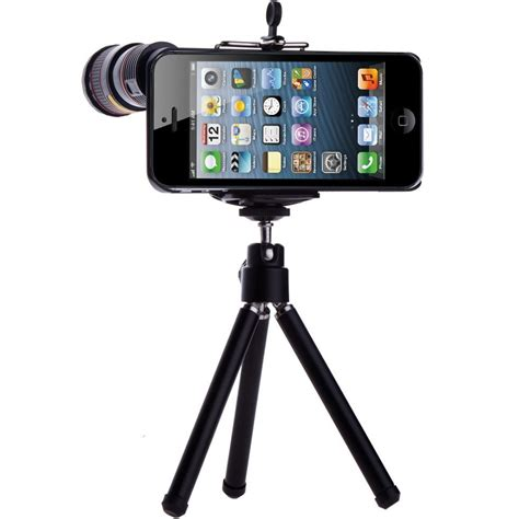 iphone 5 tripod iscope 8x zoom for iphone 5 with tripod