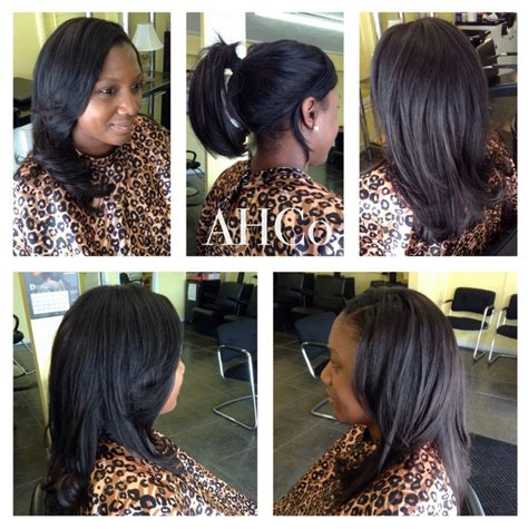 Versatile Sew In Hairstyles by Versatile Sew In Weave With Hair Image Of
