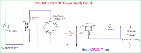 Constant Current Power Supply Circuit