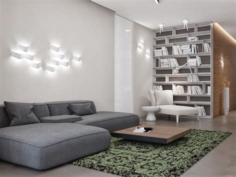 Two Apartments With Sleek Grayscale Interiors by Two Apartments With Sleek Grayscale Interiors