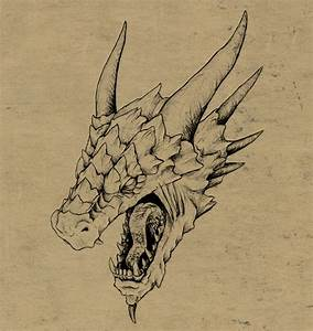 How to Draw a Realistic Dragon Head in 3D Space