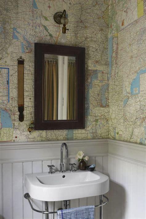 bathroom wallpaper ideas  beautiful bathroom wall