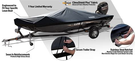 Aluminum Boat With Front R by Dowco Premium Aluminum Boat Covers And Encolosures