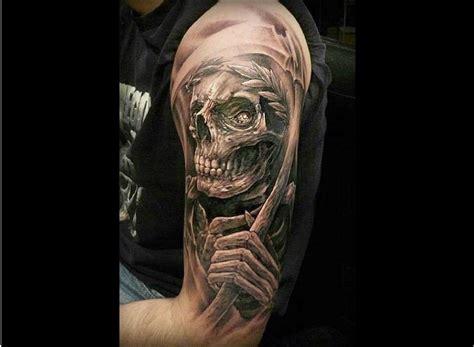 Tatouage Faucheuse  Le Tatouage De La Mort Tattoome