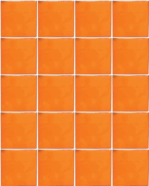 m006 orange 10 5 x 10 5cm milagros