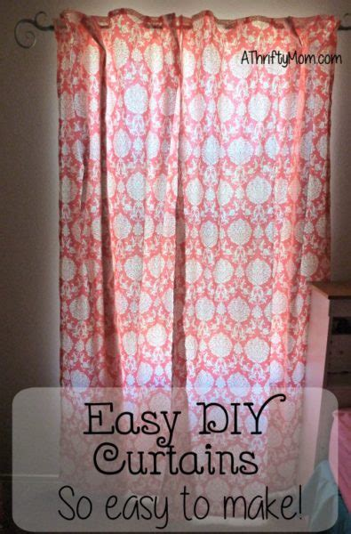 Drapes Made Easy - easy diy curtains so easy to make