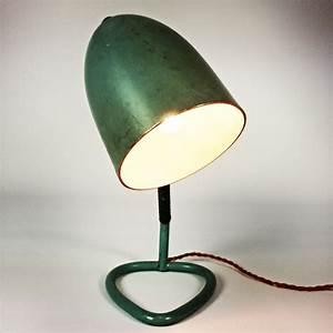 Lampe De Chevet Vintage : lampe de chevet vintage turquoise 1960 design market ~ Melissatoandfro.com Idées de Décoration
