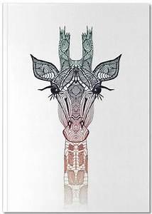 Giraffe - Monika Strigel - Premium Notizbuch   TATS ...