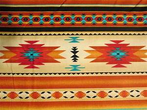 Native American Traditional Navajo Gold Teal Border by ...