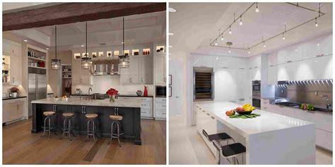 eclairage de cuisine îlot de cuisine et plan de travail 9 idées d 39 éclairage