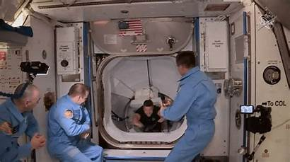 Space Station International Astronauts Nasa Docking Spacex