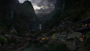 Chinese Hidden Town High Quality Wallpapers,Wallpaper