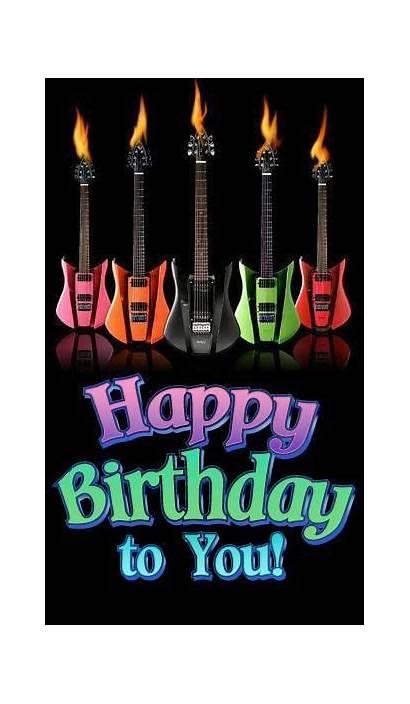 Birthday Happy Guitars