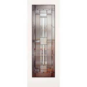 interior glass doors home depot feather river patina glass interior slab door at