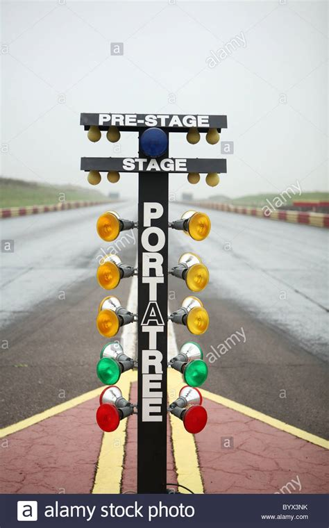 drag racing start lights stock photo royalty free image