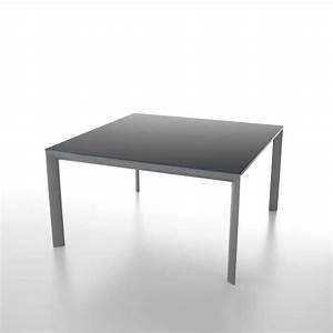 Table Carrée Verre : table carr e extensible en verre tremp et m tal cocoon 4 ~ Teatrodelosmanantiales.com Idées de Décoration