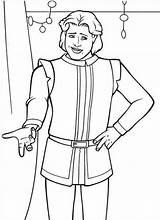 Prince Coloring Charming Pages Shrek Cinderella Getcolorings Sumptuous Printable Popular sketch template