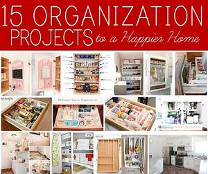 15, Home, Organization, Projects, To, A, Happier, Home
