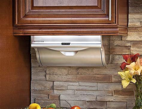 towel rack for kitchen cabinet innovia cabinet paper towel dispenser 187 gadget flow 8563