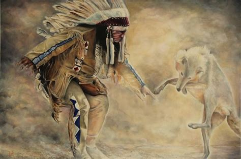 dances  wolves painting  david reeves payne
