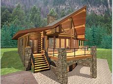 Log Cabin Plans Under 500 Square Feet