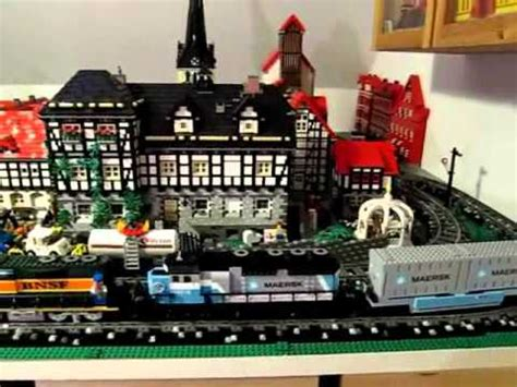 New Lego® Maersk Train 10219 In Double Traction (april