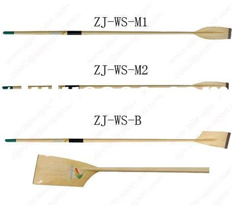 wooden row boat oars  sale    diy building