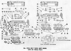 American Flyer Locomotive 3745 Gp